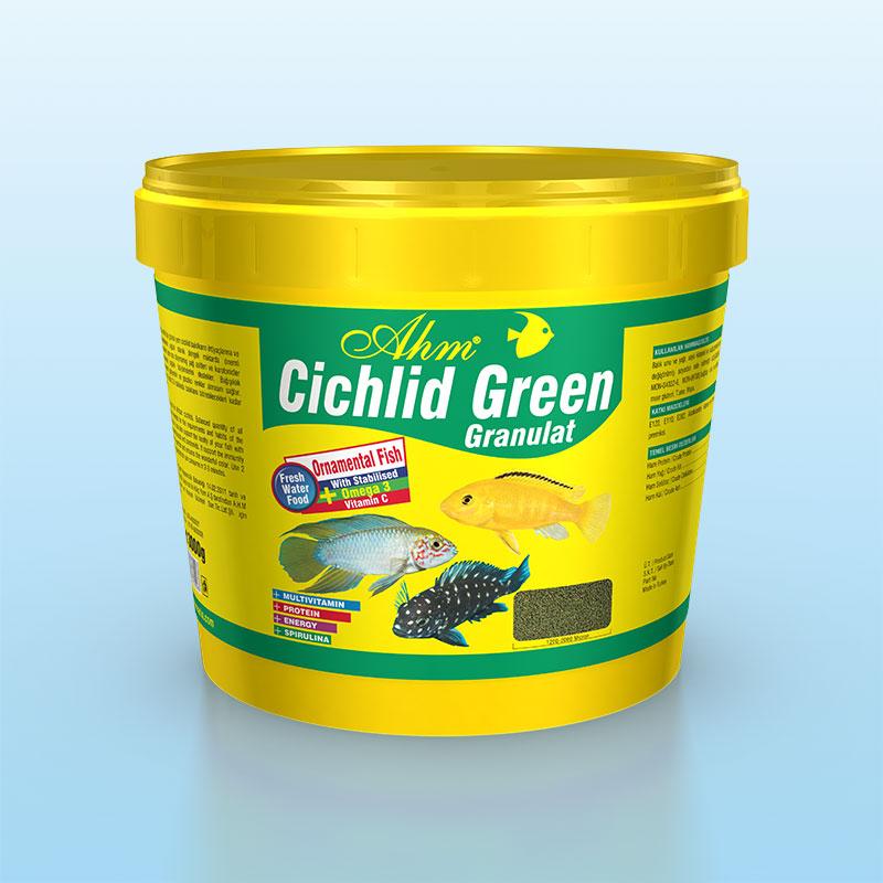 Cichlid Green Granulat