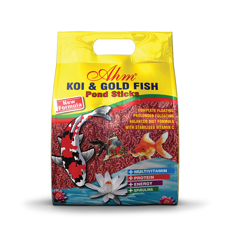 Koi & Gold Fish Food Natural