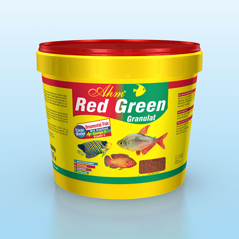 Red Green Granulat